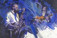 82 | Blues | 145 x 115 cm