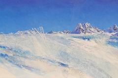 857 I Winterzauber, Spülen, Mittagshorn I 2-teilig 75 x 280 cm