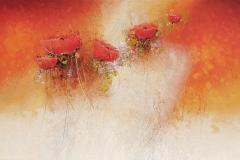 880 | Mohnblüten | 60 x 120 cm