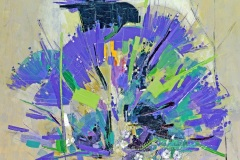 90 | Lavendelstrauss | 130 x 92 cm