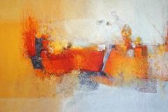 903 | Inneres Feuer | 130 x 90 cm